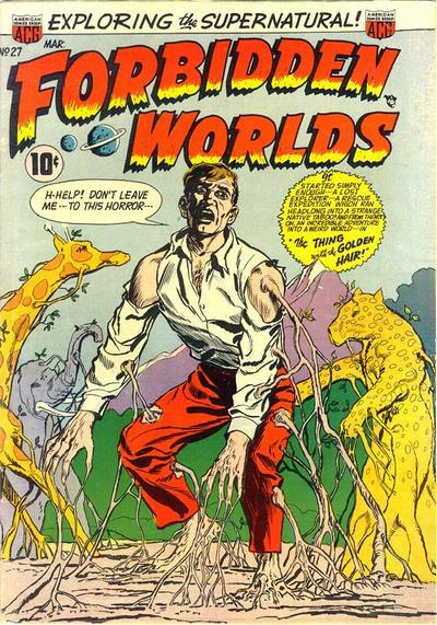 Cover for Forbidden Worlds (American Comics Group, 1951 series) #27