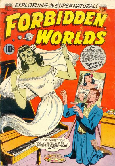 Cover for Forbidden Worlds (American Comics Group, 1951 series) #28