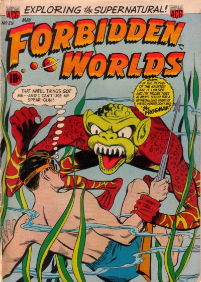 Cover for Forbidden Worlds (American Comics Group, 1951 series) #29