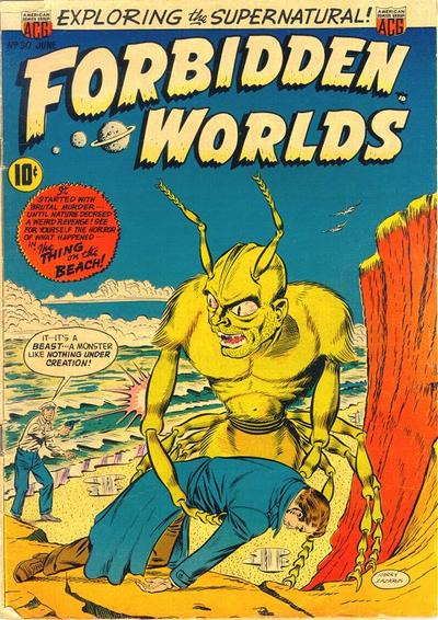 Cover for Forbidden Worlds (American Comics Group, 1951 series) #30