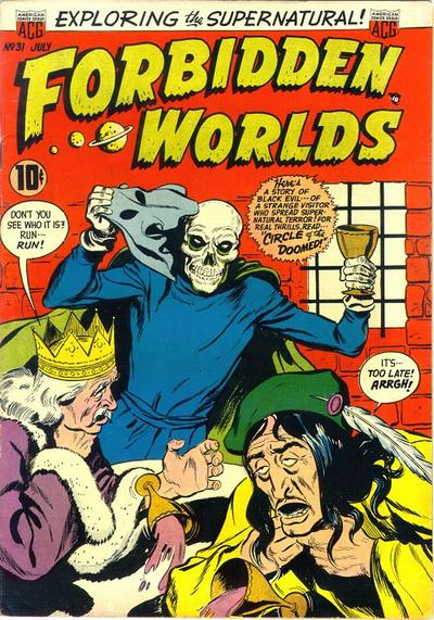 Cover for Forbidden Worlds (American Comics Group, 1951 series) #31