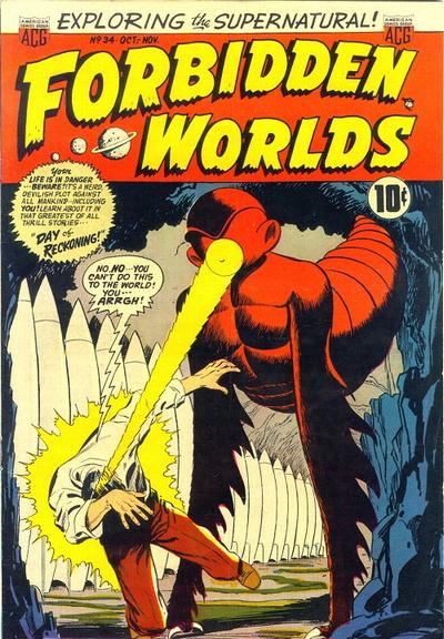 Cover for Forbidden Worlds (American Comics Group, 1951 series) #34