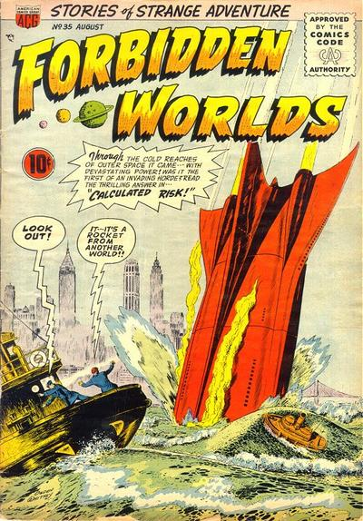Cover for Forbidden Worlds (American Comics Group, 1951 series) #35