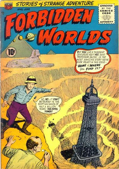 Cover for Forbidden Worlds (American Comics Group, 1951 series) #43