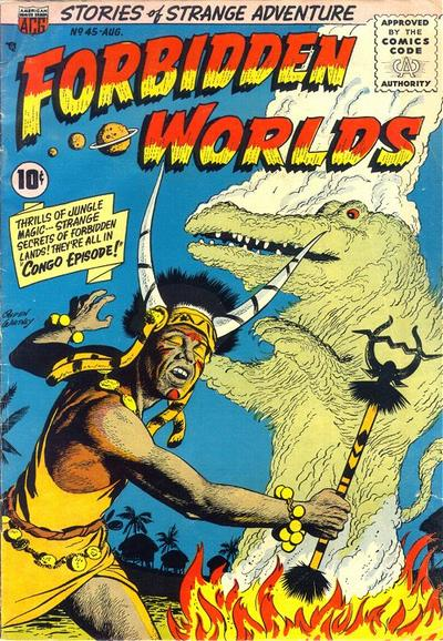 Cover for Forbidden Worlds (American Comics Group, 1951 series) #45