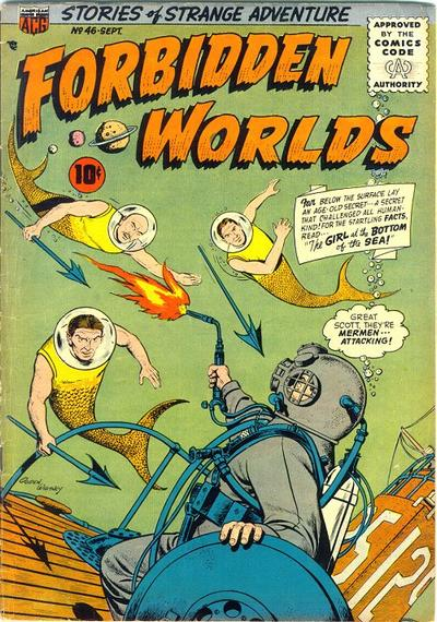 Cover for Forbidden Worlds (American Comics Group, 1951 series) #46