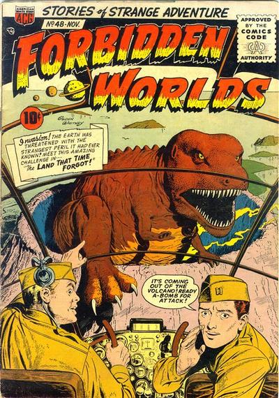 Cover for Forbidden Worlds (American Comics Group, 1951 series) #48