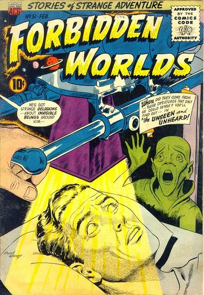 Cover for Forbidden Worlds (American Comics Group, 1951 series) #51