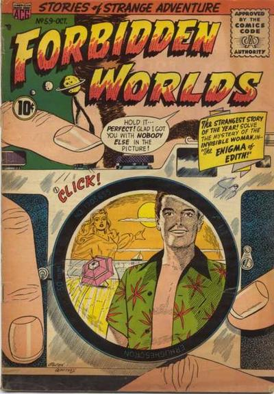 Cover for Forbidden Worlds (American Comics Group, 1951 series) #59
