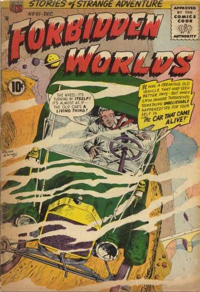 Cover for Forbidden Worlds (American Comics Group, 1951 series) #61