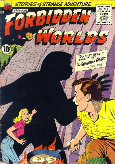 Cover for Forbidden Worlds (American Comics Group, 1951 series) #67