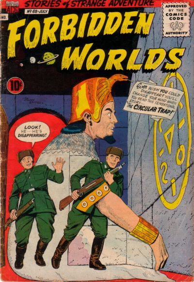 Cover for Forbidden Worlds (American Comics Group, 1951 series) #68