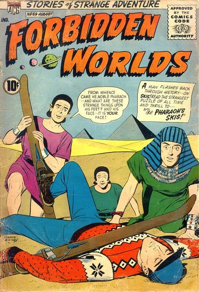 Cover for Forbidden Worlds (American Comics Group, 1951 series) #69