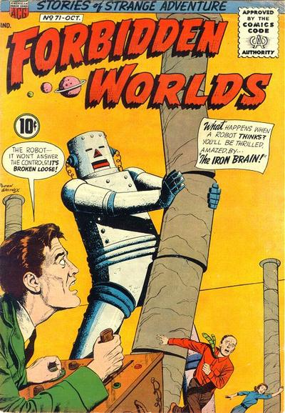 Cover for Forbidden Worlds (American Comics Group, 1951 series) #71