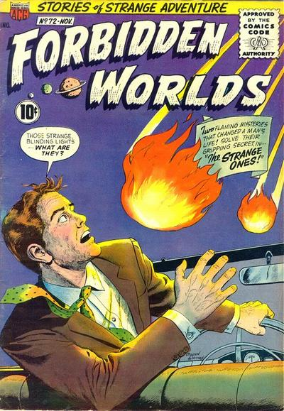 Cover for Forbidden Worlds (American Comics Group, 1951 series) #72