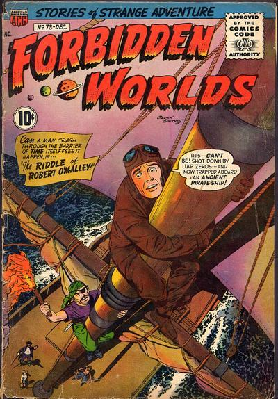 Cover for Forbidden Worlds (American Comics Group, 1951 series) #73