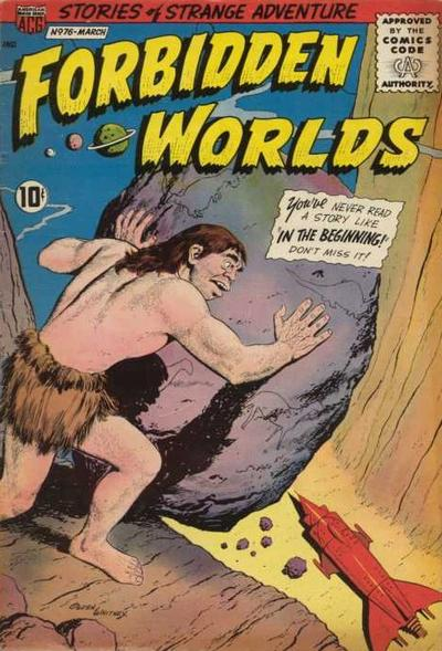 Cover for Forbidden Worlds (American Comics Group, 1951 series) #76