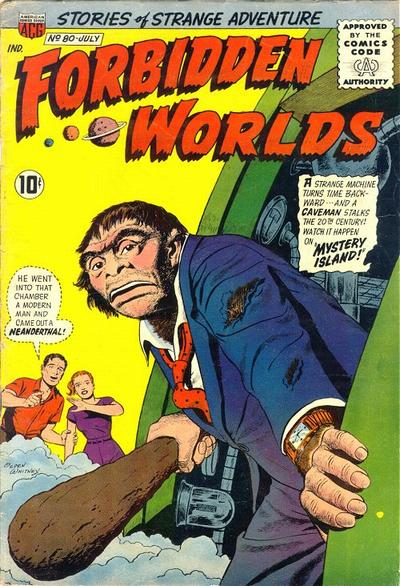 Cover for Forbidden Worlds (American Comics Group, 1951 series) #80