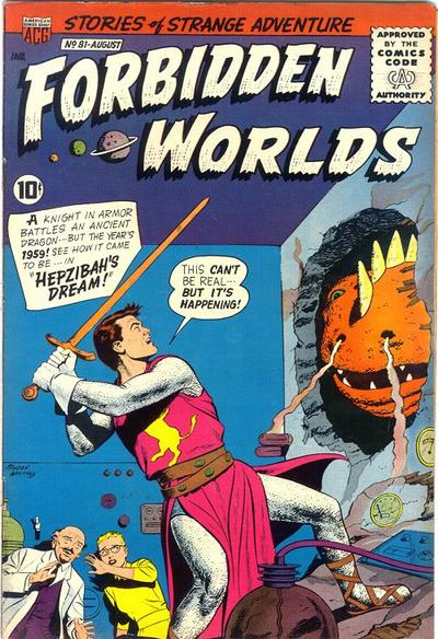 Cover for Forbidden Worlds (American Comics Group, 1951 series) #81