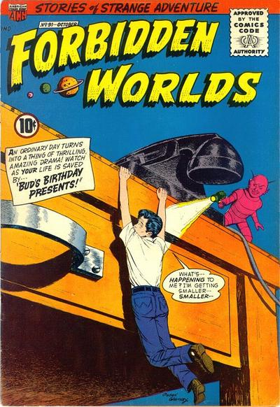 Cover for Forbidden Worlds (American Comics Group, 1951 series) #91