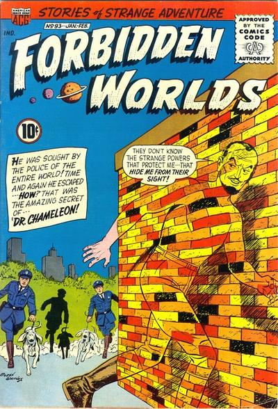 Cover for Forbidden Worlds (American Comics Group, 1951 series) #93