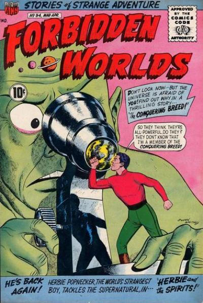 Cover for Forbidden Worlds (American Comics Group, 1951 series) #94