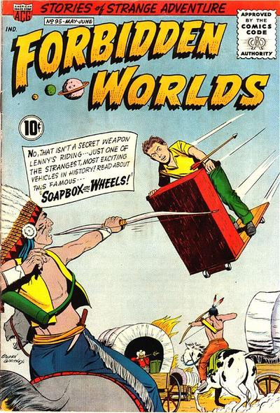Cover for Forbidden Worlds (American Comics Group, 1951 series) #95