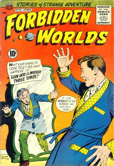 Cover for Forbidden Worlds (American Comics Group, 1951 series) #99