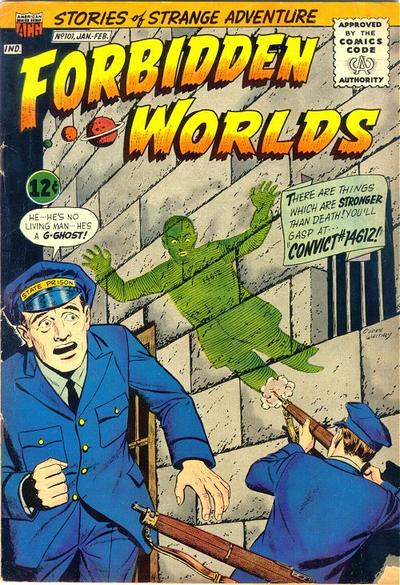 Cover for Forbidden Worlds (American Comics Group, 1951 series) #101
