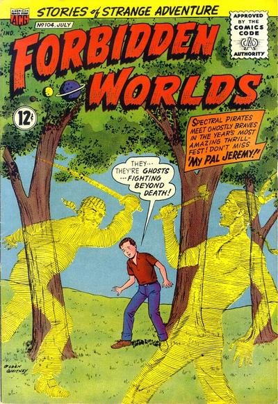 Cover for Forbidden Worlds (American Comics Group, 1951 series) #104