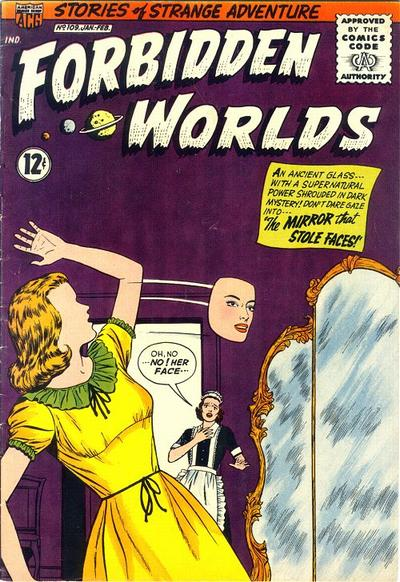 Cover for Forbidden Worlds (American Comics Group, 1951 series) #109