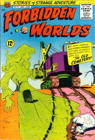 Cover for Forbidden Worlds (American Comics Group, 1951 series) #111