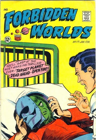 Cover for Forbidden Worlds (American Comics Group, 1951 series) #117