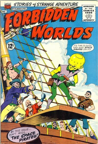 Cover for Forbidden Worlds (American Comics Group, 1951 series) #118