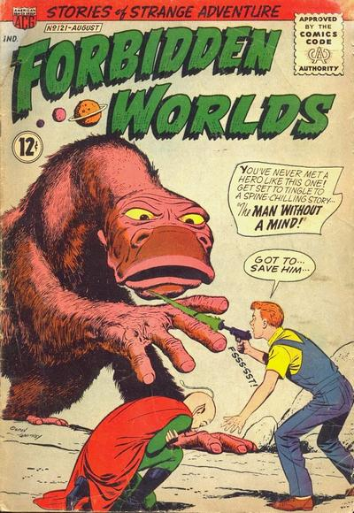 Cover for Forbidden Worlds (American Comics Group, 1951 series) #121