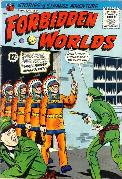 Cover for Forbidden Worlds (American Comics Group, 1951 series) #123