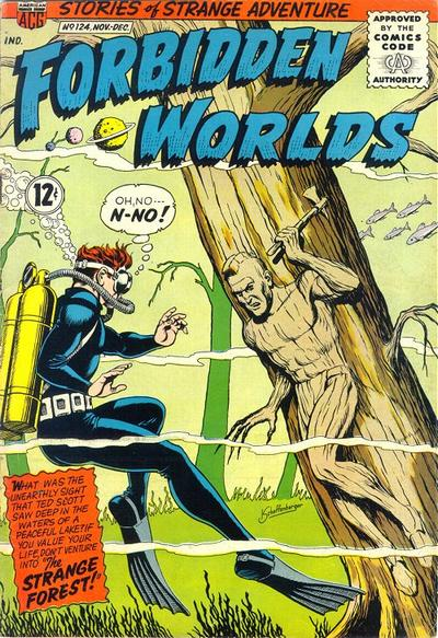 Cover for Forbidden Worlds (American Comics Group, 1951 series) #124