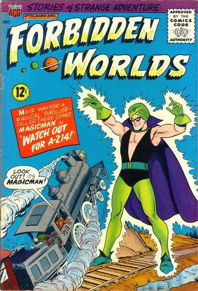 Cover for Forbidden Worlds (American Comics Group, 1951 series) #126