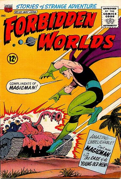 Cover for Forbidden Worlds (American Comics Group, 1951 series) #127