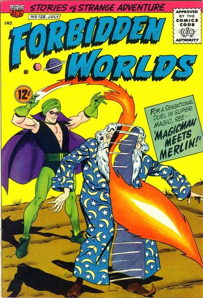 Cover for Forbidden Worlds (American Comics Group, 1951 series) #128