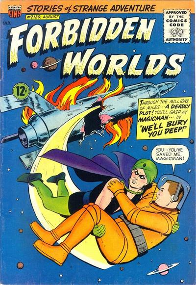 Cover for Forbidden Worlds (American Comics Group, 1951 series) #129