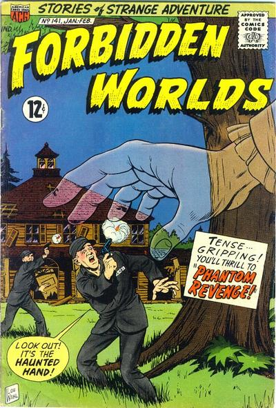 Cover for Forbidden Worlds (American Comics Group, 1951 series) #141
