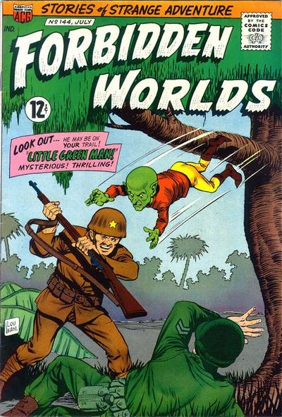 Cover for Forbidden Worlds (American Comics Group, 1951 series) #144