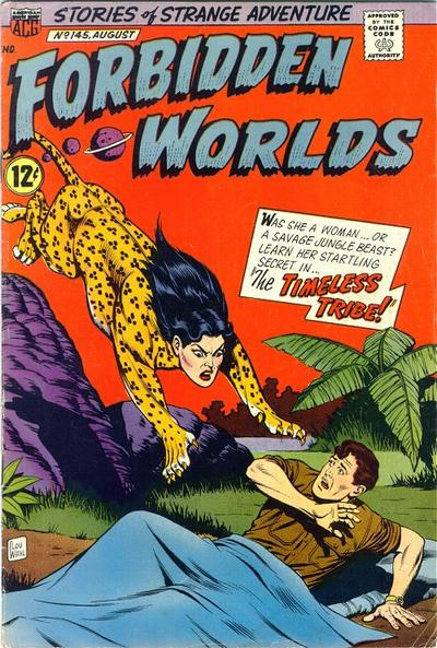 Cover for Forbidden Worlds (American Comics Group, 1951 series) #145