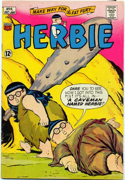 Cover for Herbie (American Comics Group, 1964 series) #6