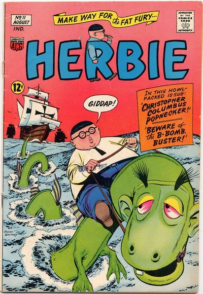 Cover for Herbie (American Comics Group, 1964 series) #11