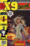 Cover for X9 Spesial (Semic, 1990 series) #2/1990