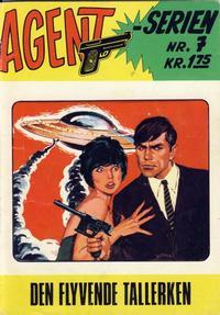 Cover Thumbnail for Agent Serien (Illustrerte Klassikere / Williams Forlag, 1968 series) #7