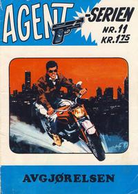 Cover Thumbnail for Agent Serien (Illustrerte Klassikere / Williams Forlag, 1968 series) #11