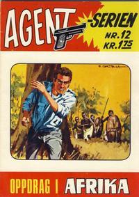 Cover Thumbnail for Agent Serien (Illustrerte Klassikere / Williams Forlag, 1968 series) #12